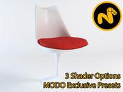 Saarinen Tulip Side Chair 3d model