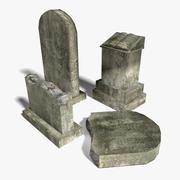 Grafstenen 3d model
