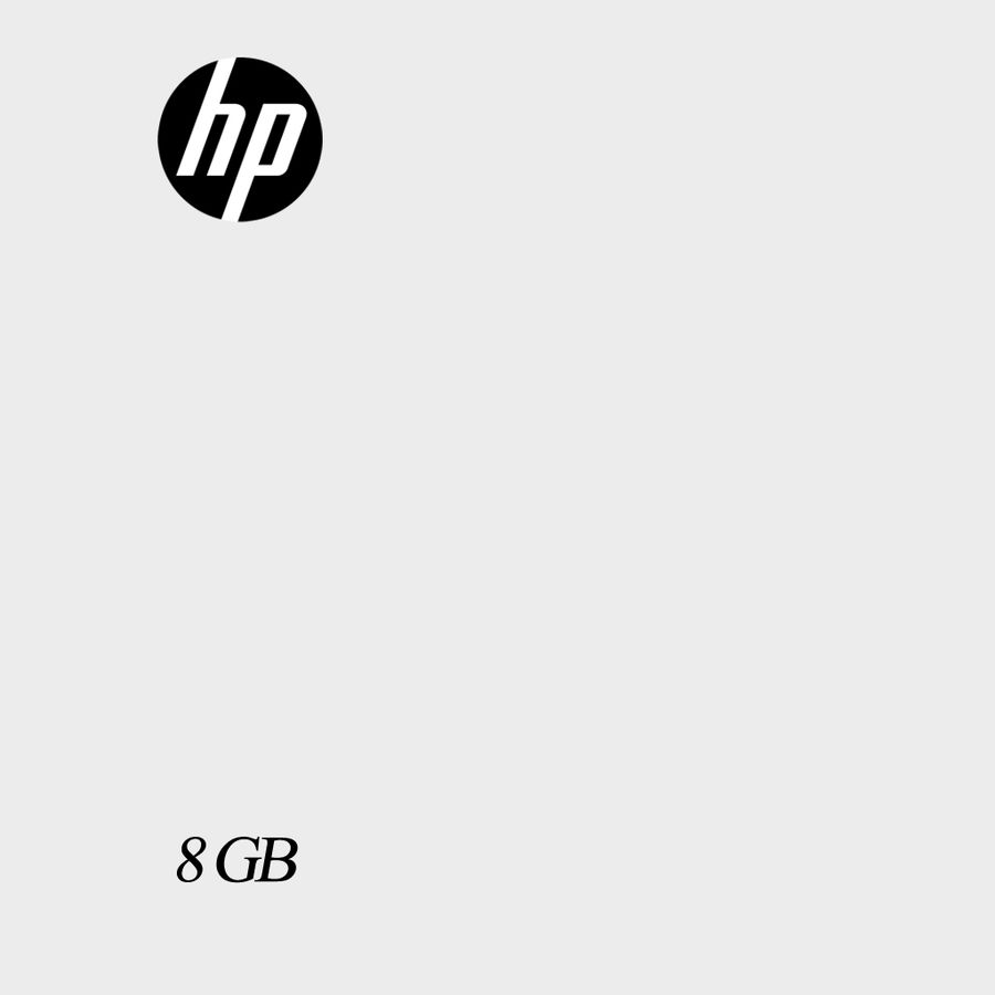 Hp Usb Flash Drive royalty-free 3d model - Preview no. 5