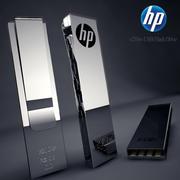 Hp Usb Flash Drive 3d model