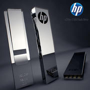 HP USB Flash Drive 3d model