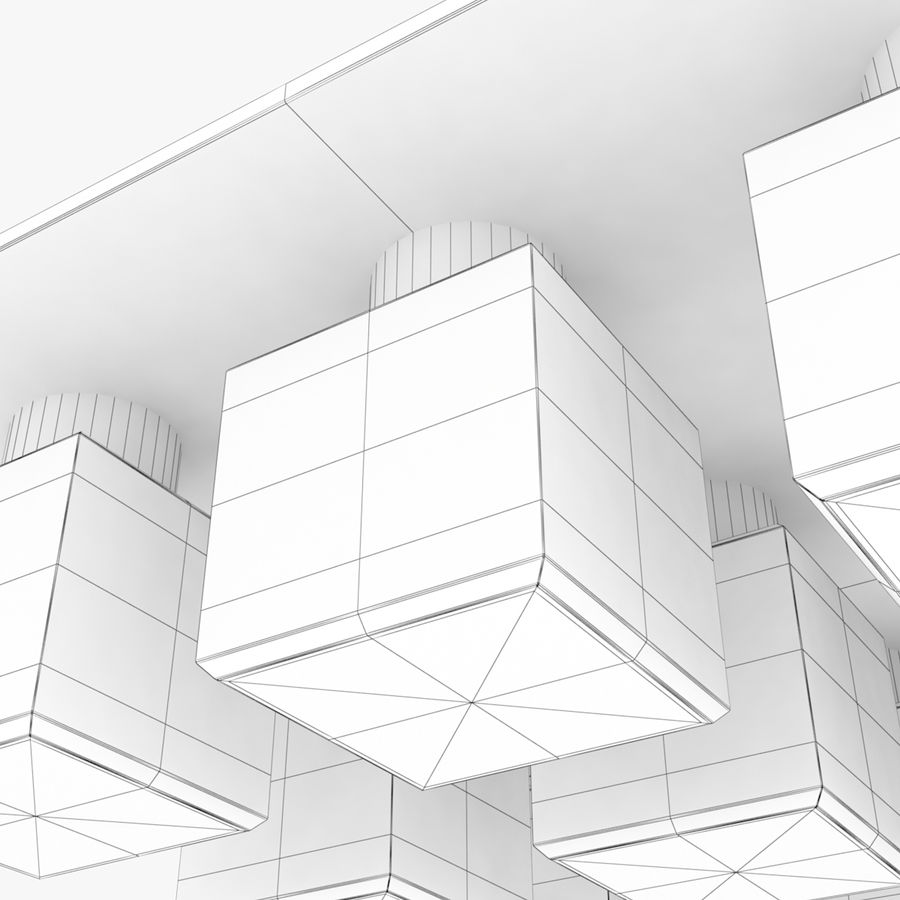 Architectural Light 35 (Lamp) royalty-free 3d model - Preview no. 6