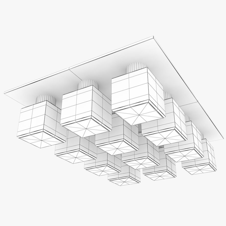 Architectural Light 35 (Lamp) royalty-free 3d model - Preview no. 5