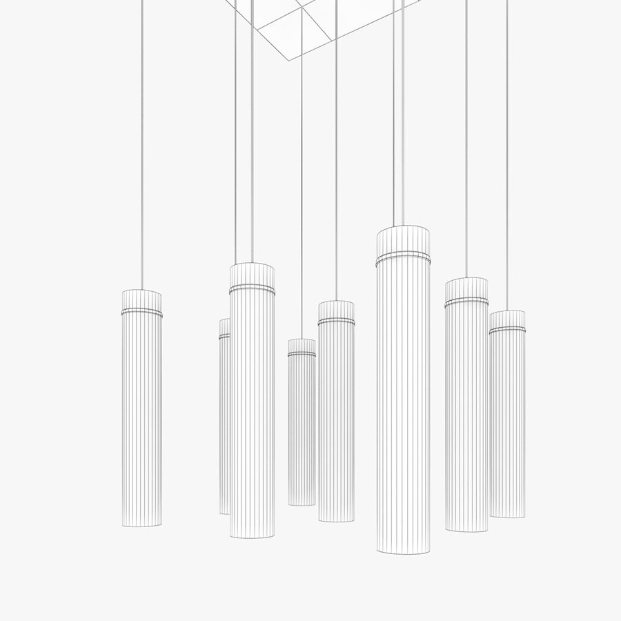 Architectural Light 59 (Lamp) royalty-free 3d model - Preview no. 6