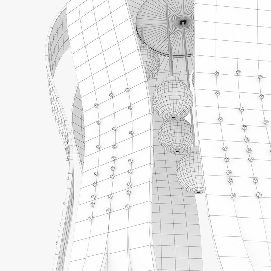 Architectural Light 65 (Lamp) royalty-free 3d model - Preview no. 6