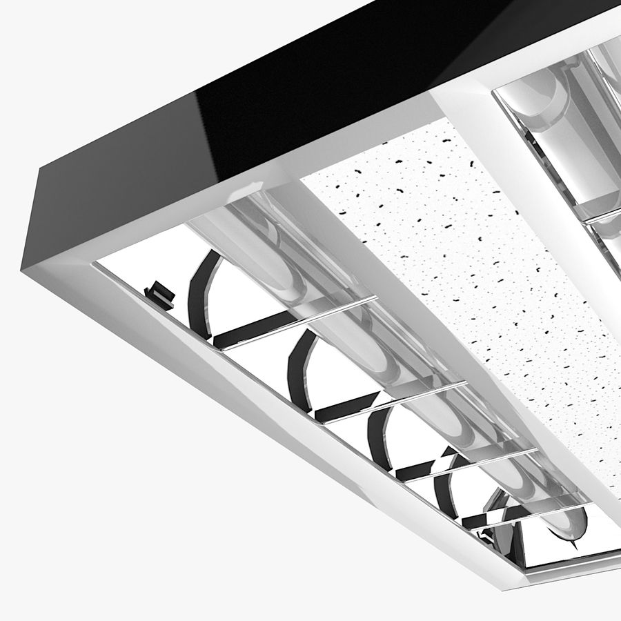 Architectural Light 01 (Lamp) royalty-free 3d model - Preview no. 3