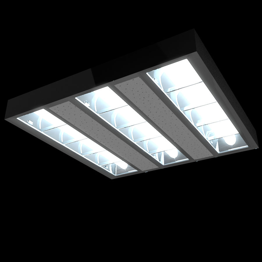 Architectural Light 01 (Lamp) royalty-free 3d model - Preview no. 4