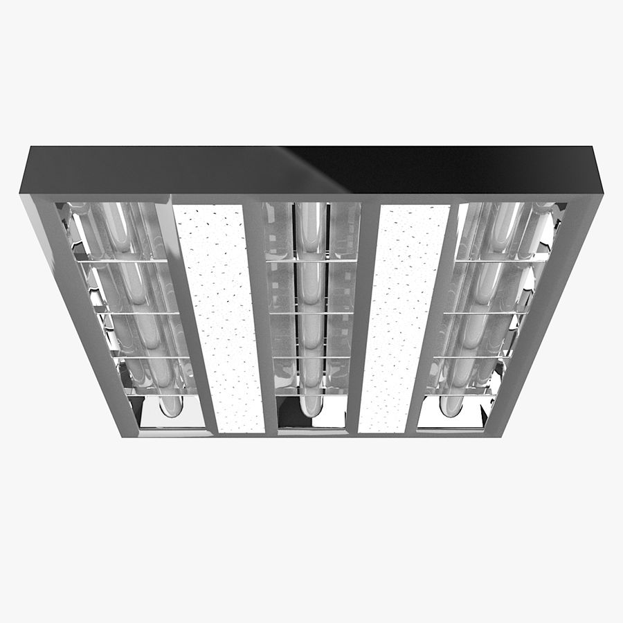 Architectural Light 01 (Lamp) royalty-free 3d model - Preview no. 2