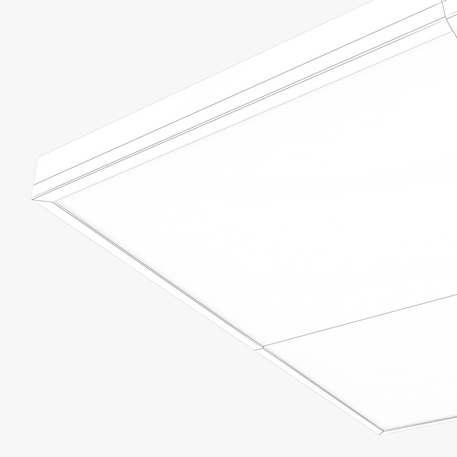 Architectural Light 02 (Lamp) royalty-free 3d model - Preview no. 6