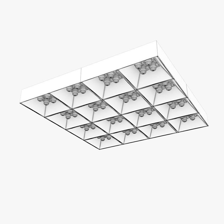 Architectural Light 04 (Lamp) royalty-free 3d model - Preview no. 5