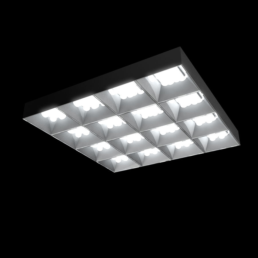 Architectural Light 04 (Lamp) royalty-free 3d model - Preview no. 4