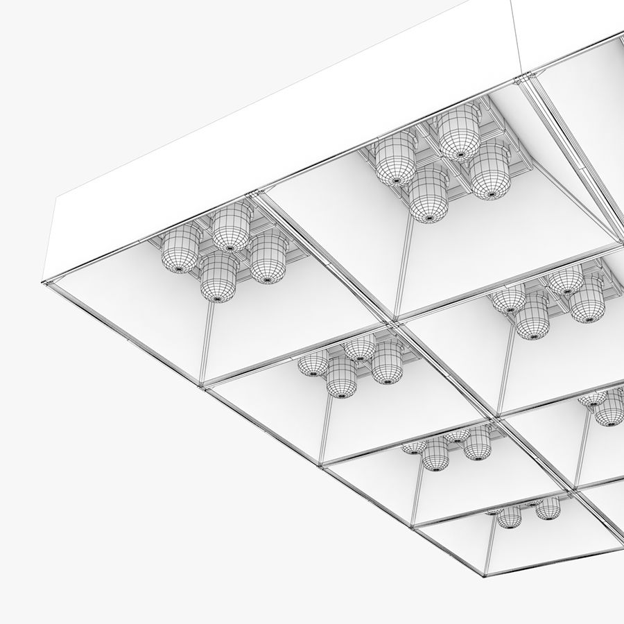 Architectural Light 04 (Lamp) royalty-free 3d model - Preview no. 6