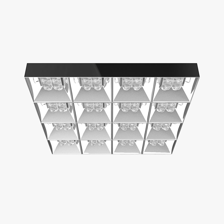 Architectural Light 04 (Lamp) royalty-free 3d model - Preview no. 2