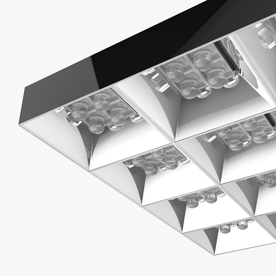 Architectural Light 04 (Lamp) royalty-free 3d model - Preview no. 3