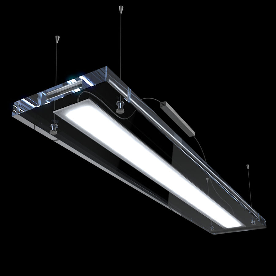Architectural Light 12 (Lamp) royalty-free 3d model - Preview no. 4
