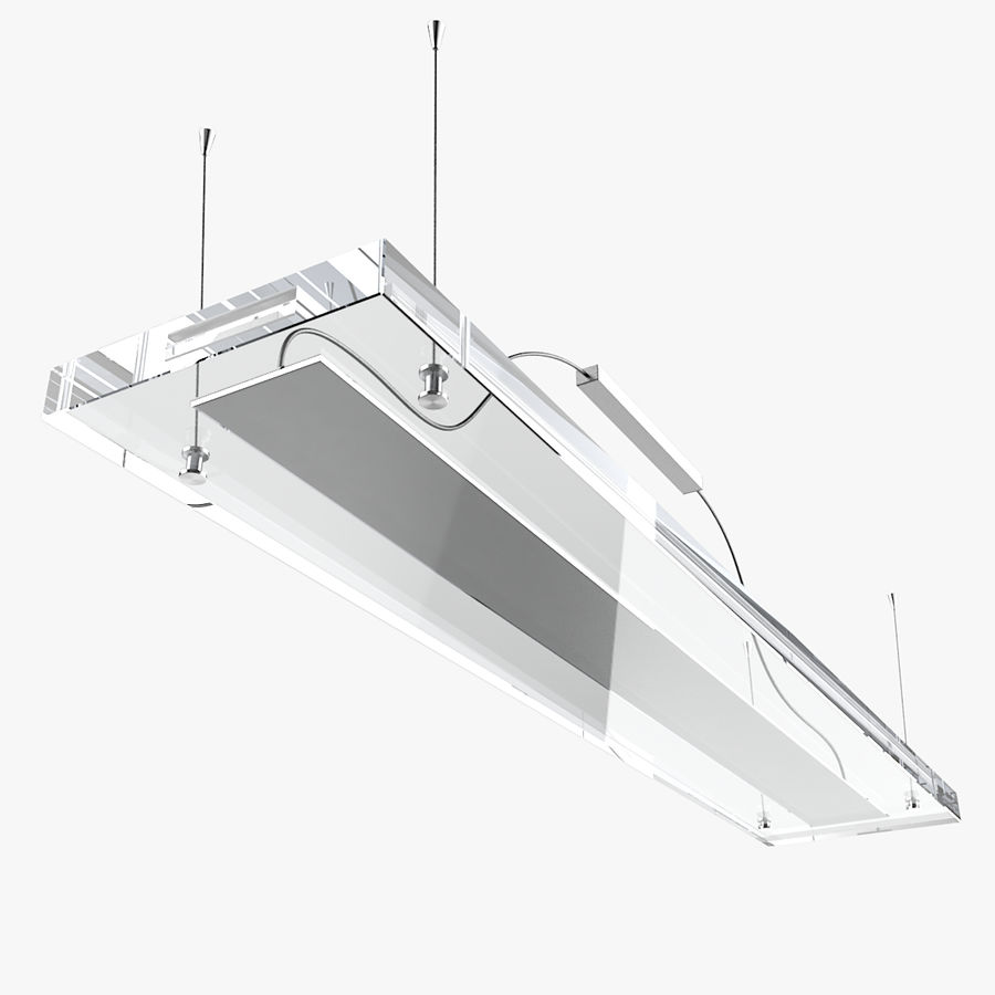 Architectural Light 12 (Lamp) royalty-free 3d model - Preview no. 1