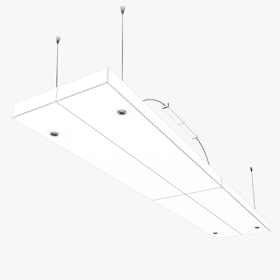 Architectural Light 12 (Lamp) royalty-free 3d model - Preview no. 5