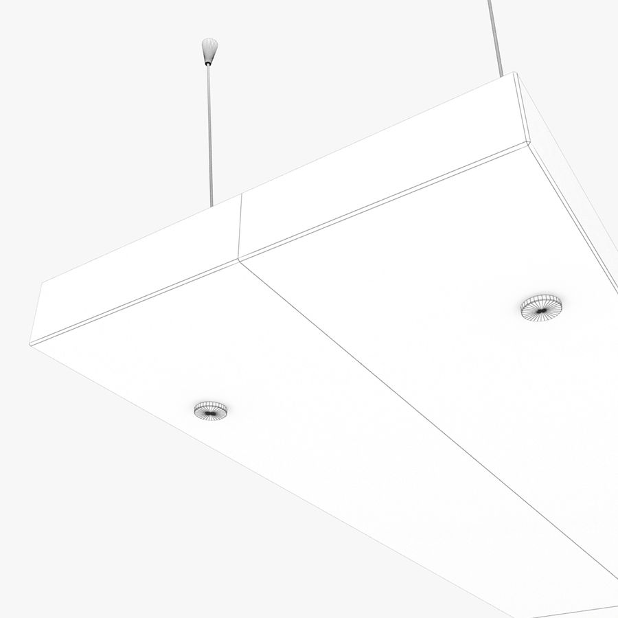 Architectural Light 12 (Lamp) royalty-free 3d model - Preview no. 6