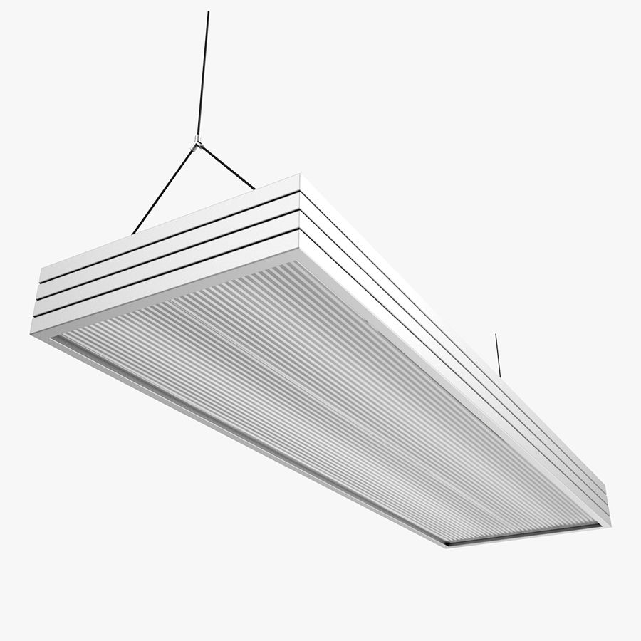 Architectural Light 14 (Lamp) royalty-free 3d model - Preview no. 1
