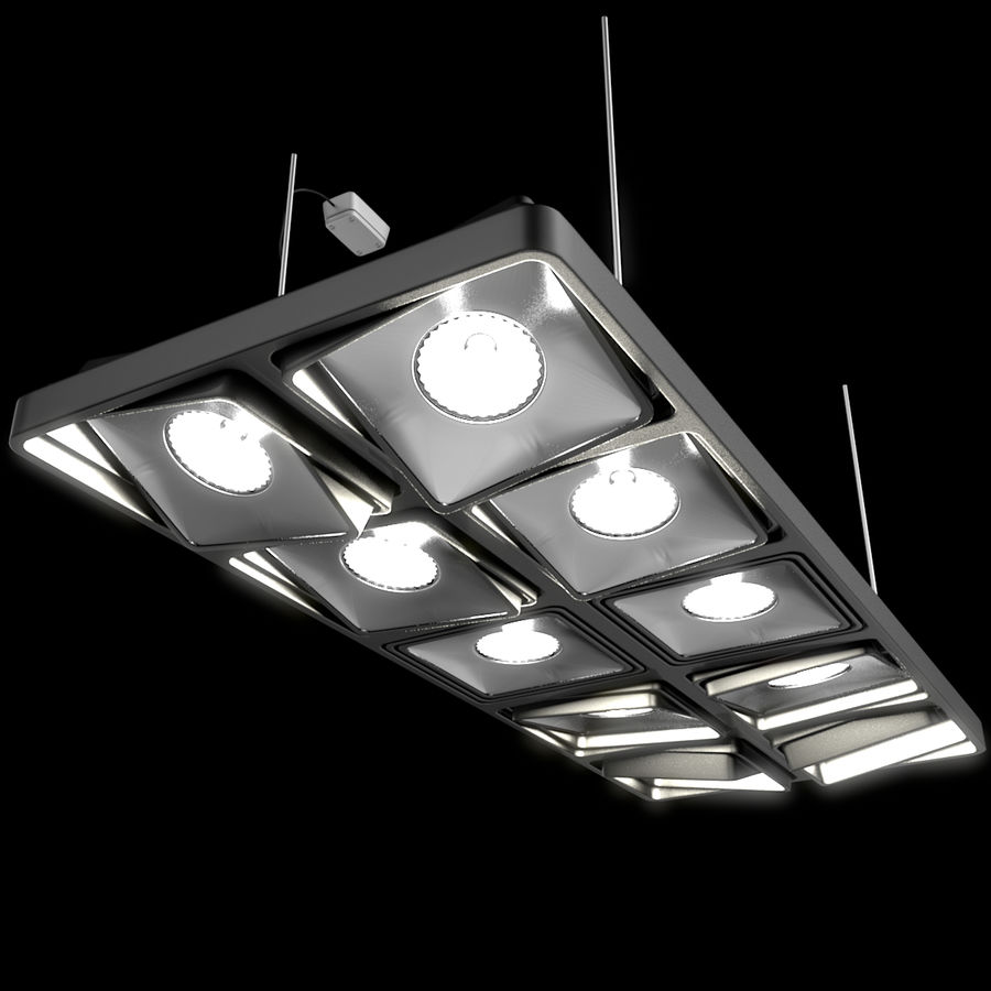 Architectural Light 15 (Lamp) royalty-free 3d model - Preview no. 4