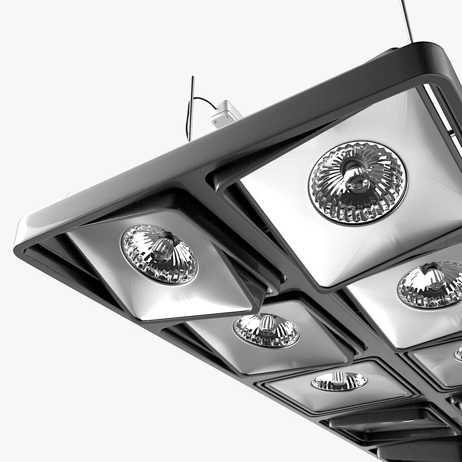 Architectural Light 15 (Lamp) royalty-free 3d model - Preview no. 3