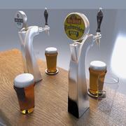 torre de cerveza modelo 3d