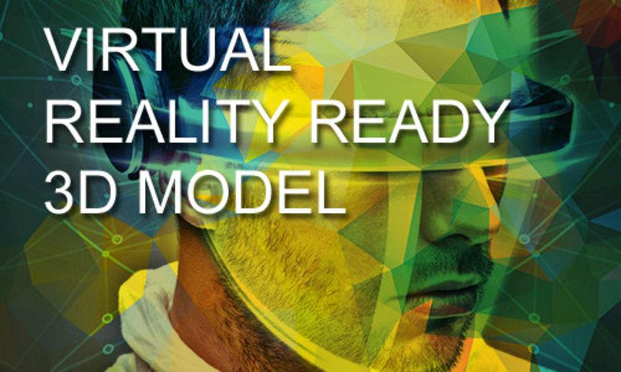 大型毛刷工具 royalty-free 3d model - Preview no. 8