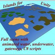 Wyspy dla jedności 3d model