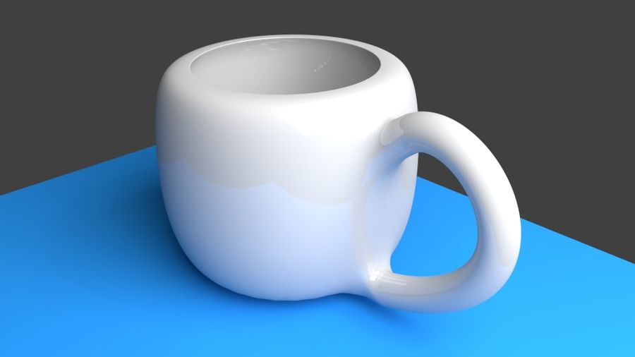 Coffe Cup royalty-free 3d model - Preview no. 5