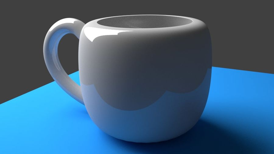 Coffe Cup royalty-free 3d model - Preview no. 3
