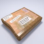 Verdacht pakket 3d model
