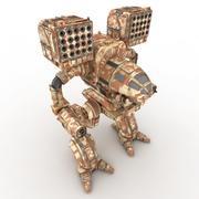 army Mech Warrior Robot V1 3d model