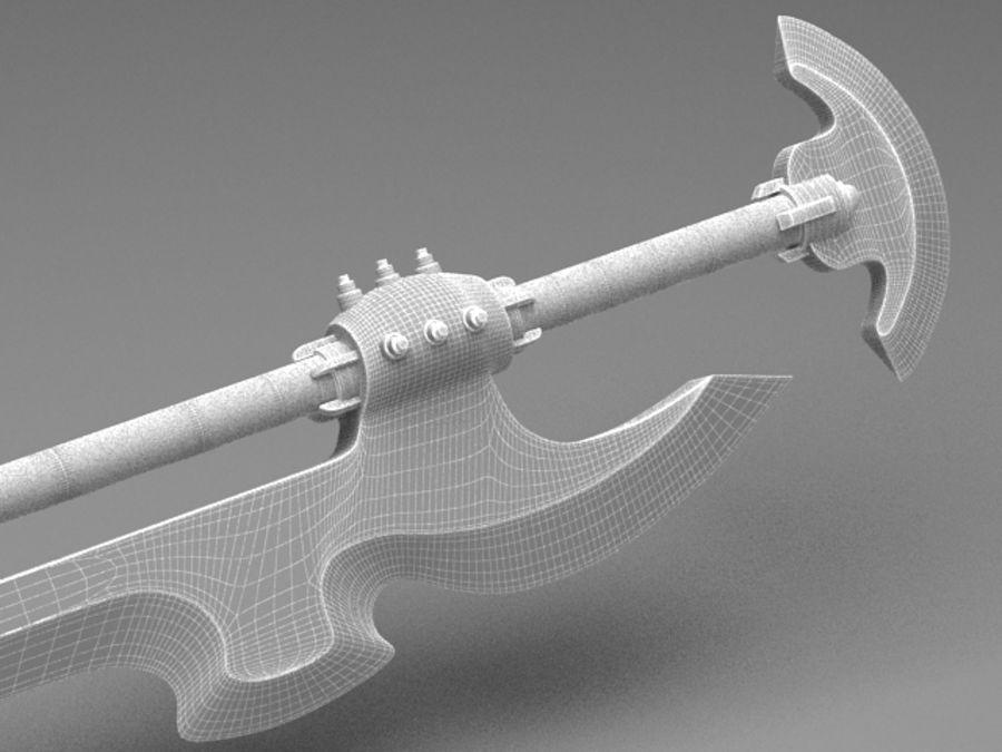 Fantasy Sword royalty-free 3d model - Preview no. 9
