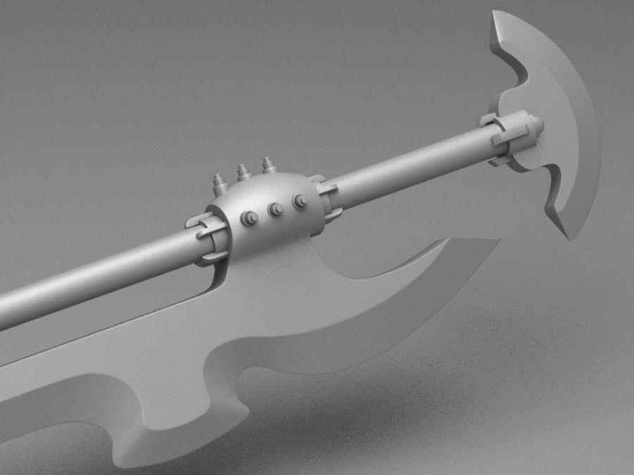 Fantasy Sword royalty-free 3d model - Preview no. 6