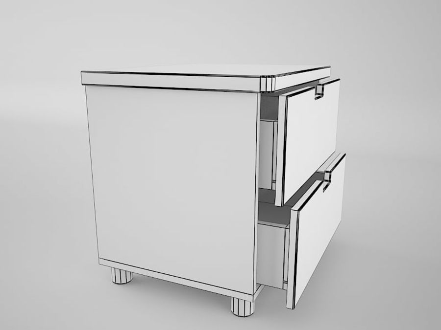 머리맡 royalty-free 3d model - Preview no. 7