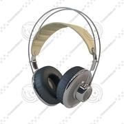 Auriculares modelo 3d