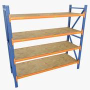 Shelves 02 3d model