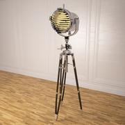 Tripod sealight floor lamp 3d model