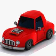 Cartoon Car 2 3d model