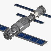 Estación Espacial modelo 3d