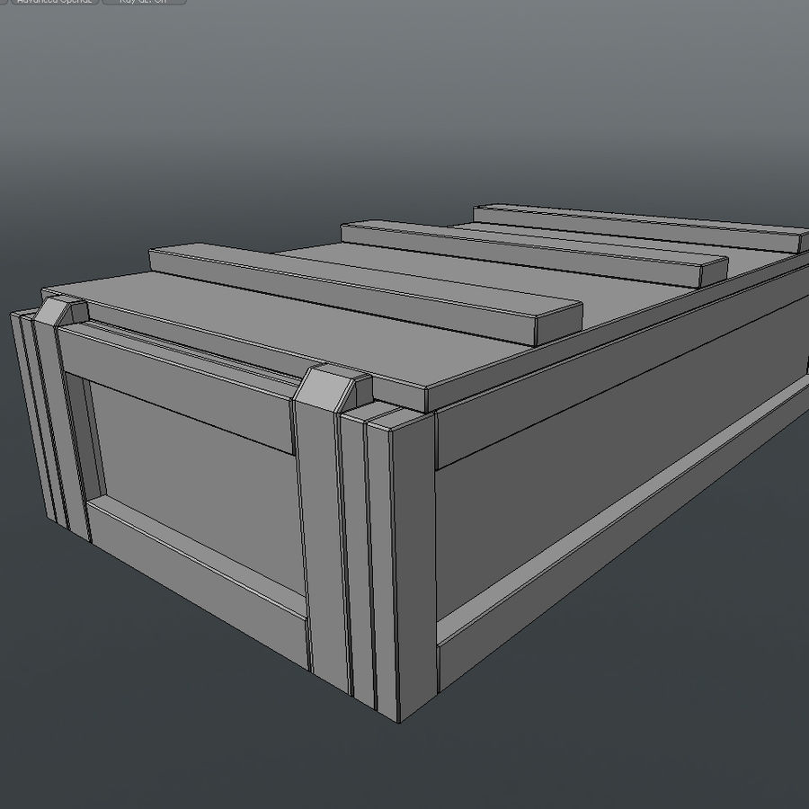 Ammo Box royalty-free 3d model - Preview no. 6