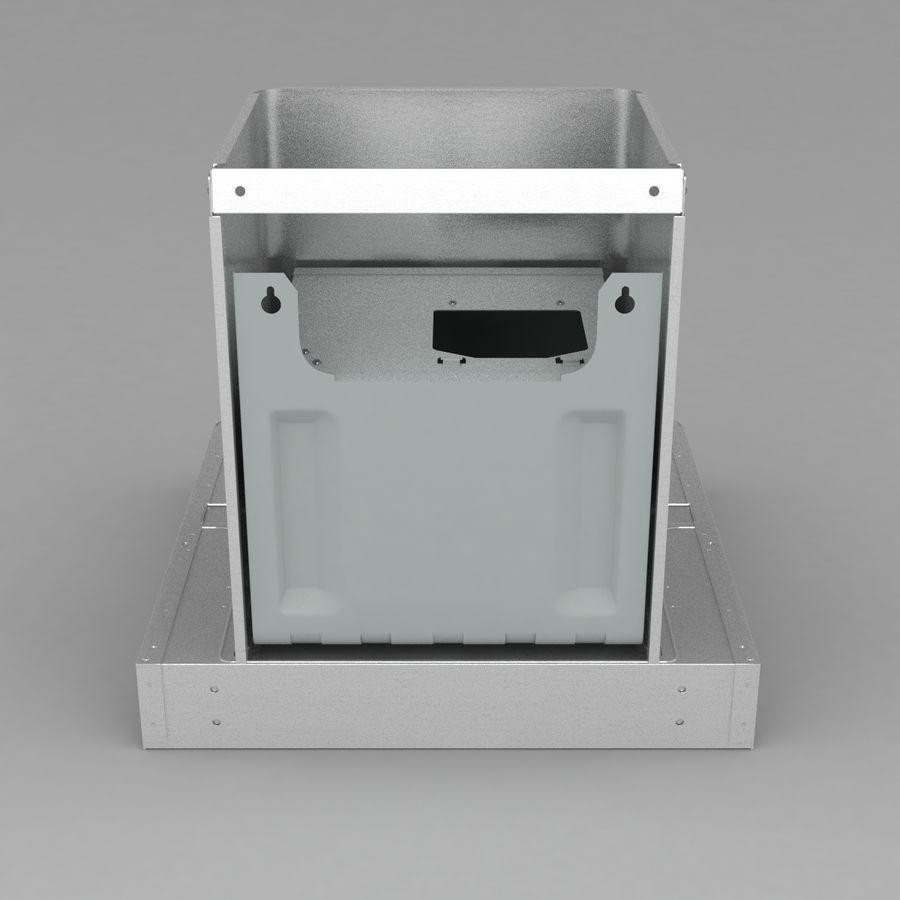 Exaustor de cozinha 3 royalty-free 3d model - Preview no. 6