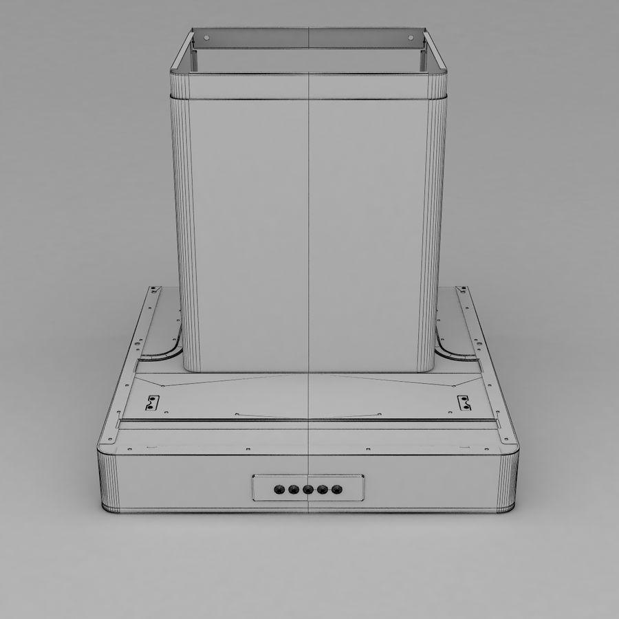 Exaustor de cozinha 3 royalty-free 3d model - Preview no. 10