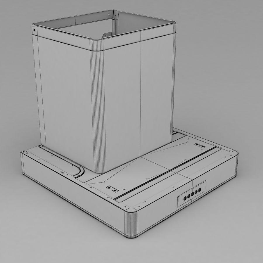 Exaustor de cozinha 3 royalty-free 3d model - Preview no. 11