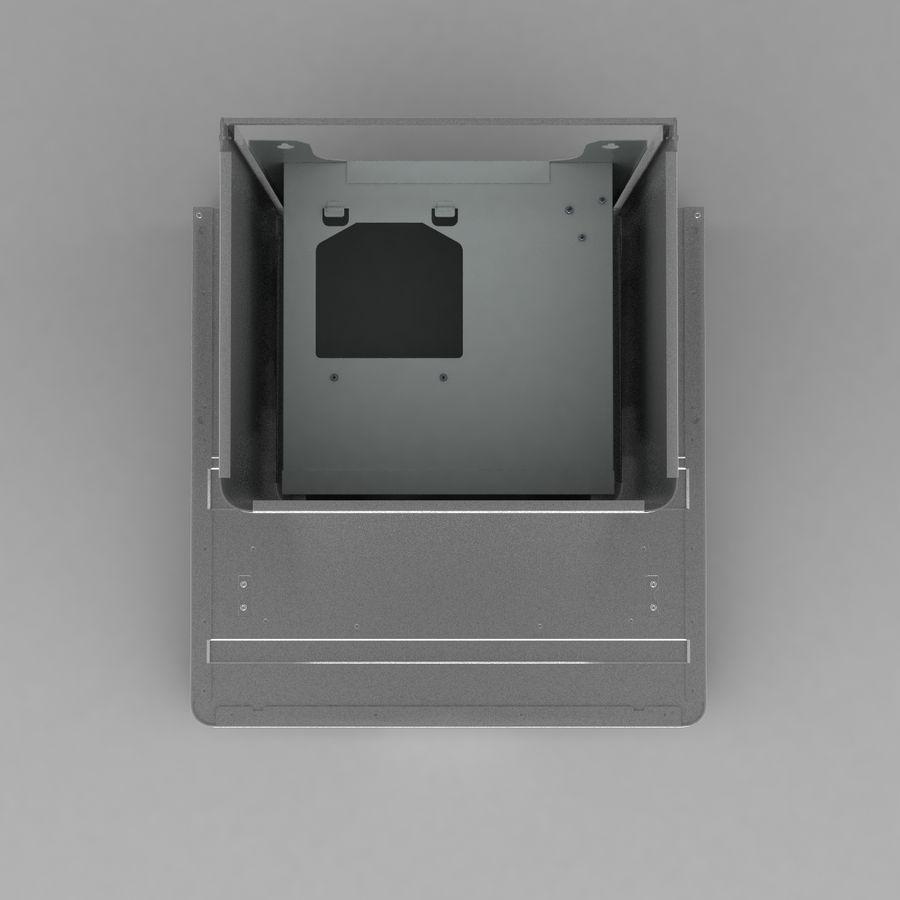 Exaustor de cozinha 3 royalty-free 3d model - Preview no. 7