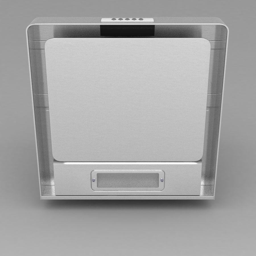 Exaustor de cozinha 3 royalty-free 3d model - Preview no. 8