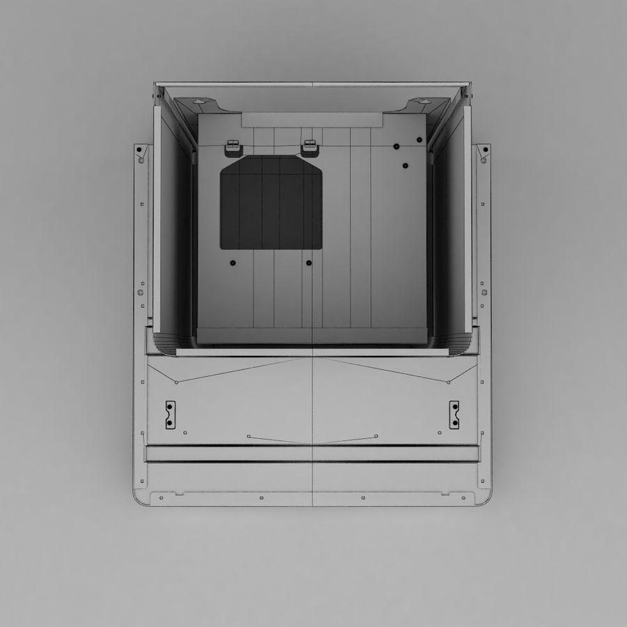 Exaustor de cozinha 3 royalty-free 3d model - Preview no. 12