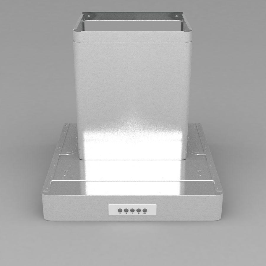 Exaustor de cozinha 3 royalty-free 3d model - Preview no. 3