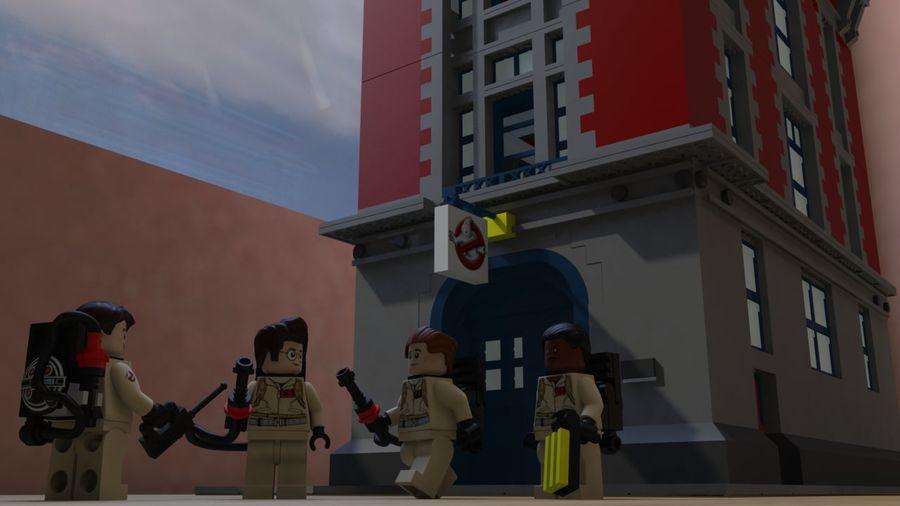Ghostbusters Lego Figurki Kompletny zestaw royalty-free 3d model - Preview no. 3