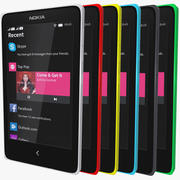 Nokia x plus + 3d model